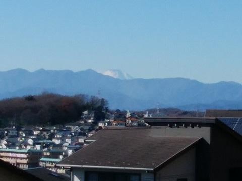 鶴川台尾根緑地富士山