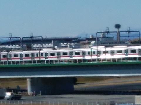 多摩川丸子橋南アルプス