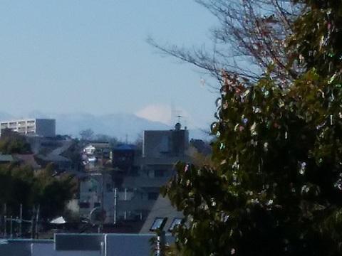 西生田北大作公園富士山