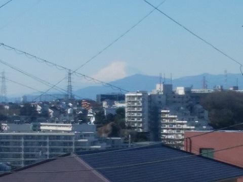 錦台中学校富士山