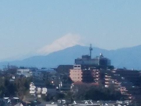 西寺尾の丘公園富士山