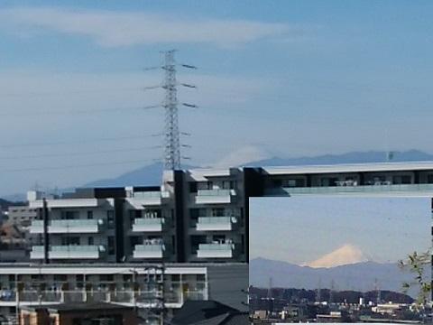 おしみず坂富士山