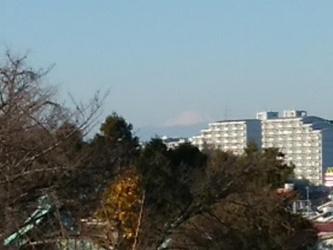子母口富士見台富士山
