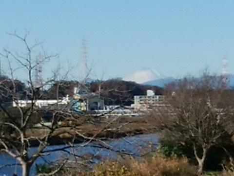 鶴見川新幹線橋梁富士山