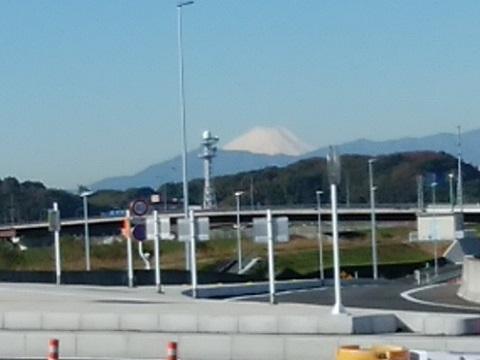 新横浜大橋富士山