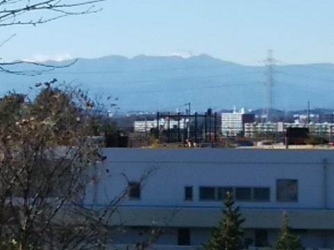 潮見台との市境富士山
