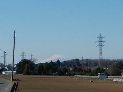 菅田・羽沢農業専用地域富士山