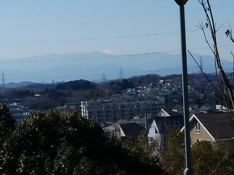 高石1丁目の高台富士山