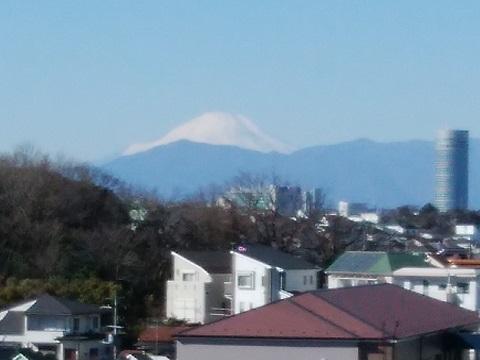 北寺尾5丁目富士山