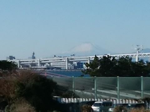大黒海づり公園富士山