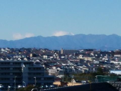 禅当寺公園富士山