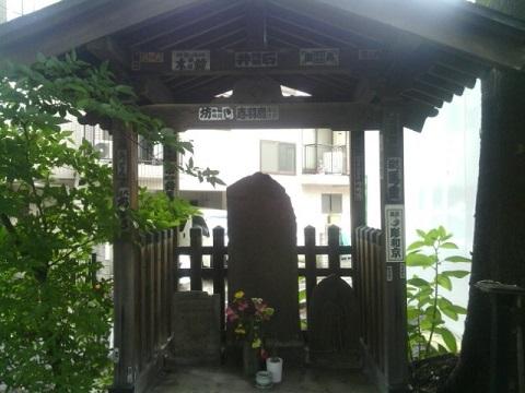 石造庚申供養塔