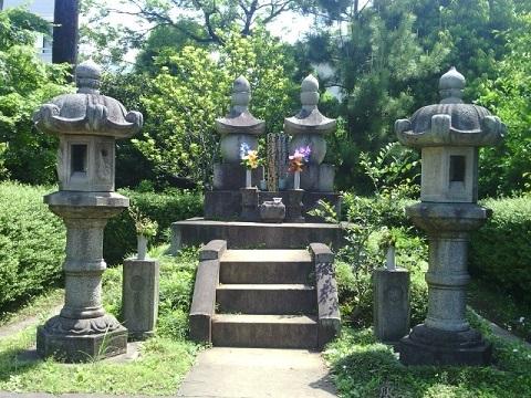 勝海舟のお墓