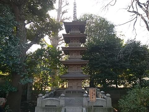 薬王寺ミニ五重の塔