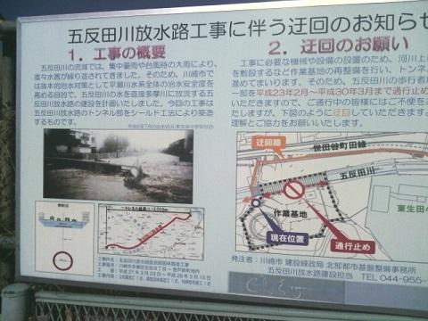 五反田川改修工事