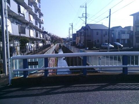 旧三沢川下流