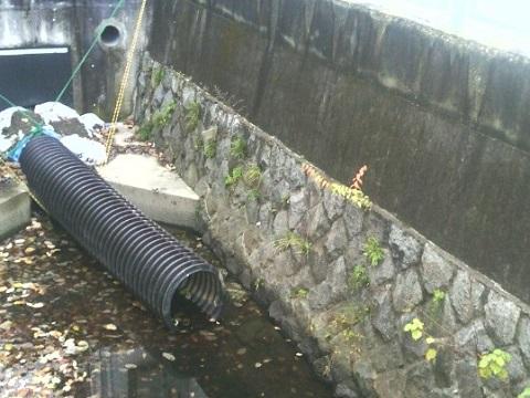 三沢川取水口