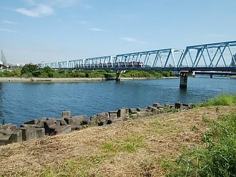 京浜東北線多摩川橋