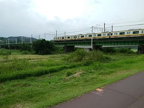 南武線多摩川橋