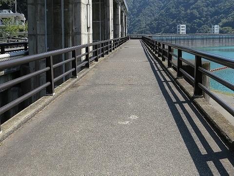 小河内ダム管理橋