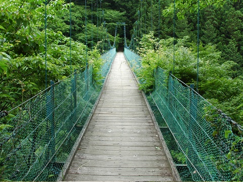 しだくら吊橋