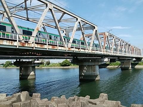 東海道本線六郷川橋梁