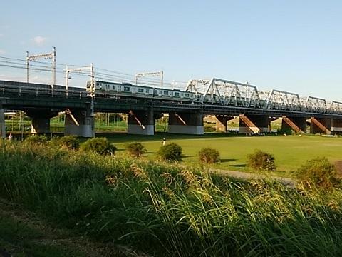 横須賀線多摩川橋梁