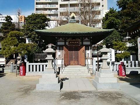 川崎大師聖徳太子堂