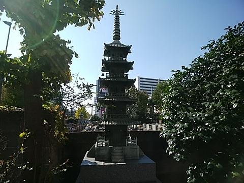 真福寺ミニ五重塔
