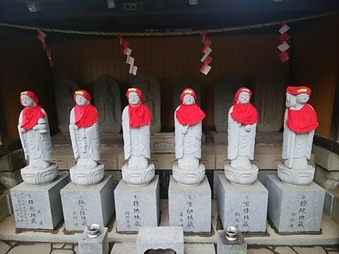 興禅寺六地蔵