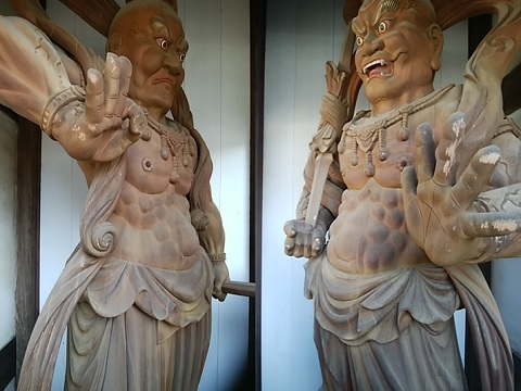 三會寺仁王像