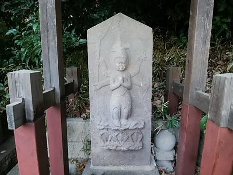 下田神社前庚申塔