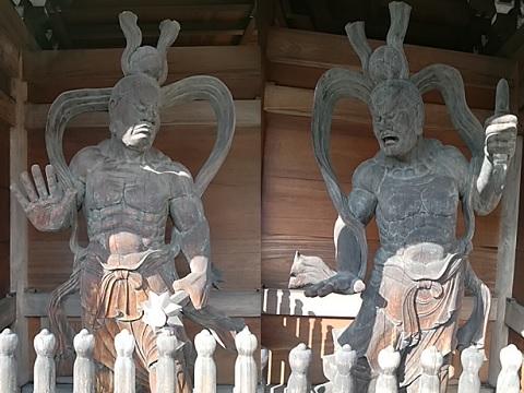 大林寺仁王像