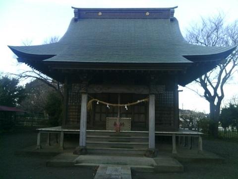 新治神明社