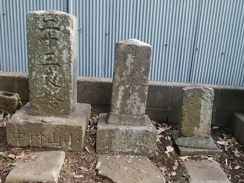 日枝神社二十三夜塔