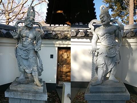 西蔵寺仁王像