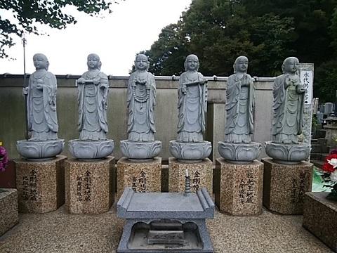 東泉寺六地蔵