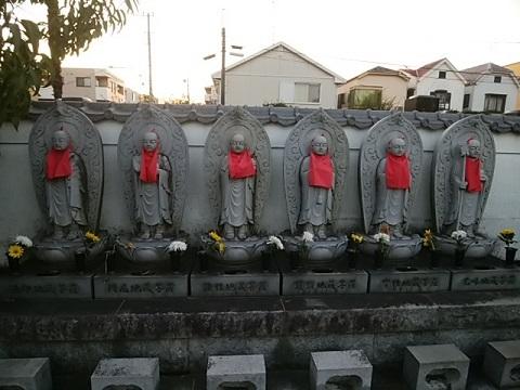 安楽寺六地蔵