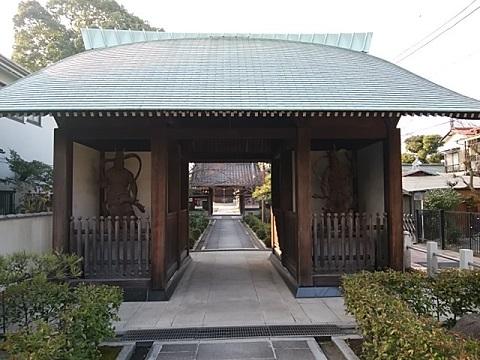 西明寺仁王門