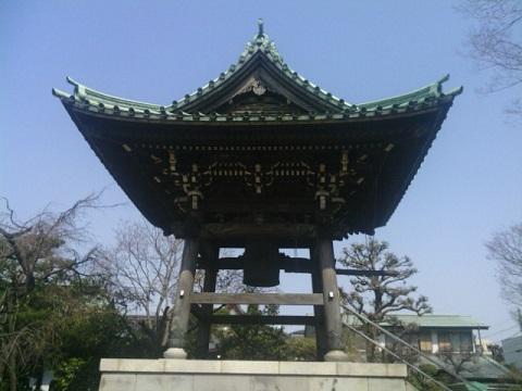 西明寺鐘楼