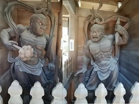 全龍寺仁王像