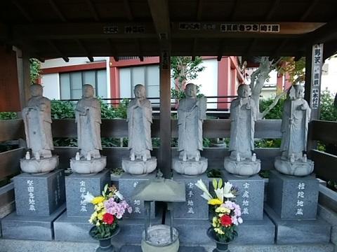 大蓮寺六地蔵