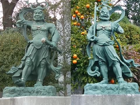 蓮花寺仁王像