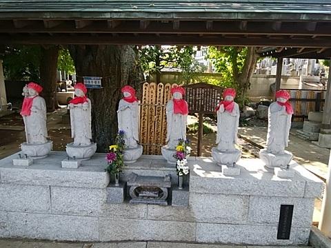 明鏡寺六地蔵