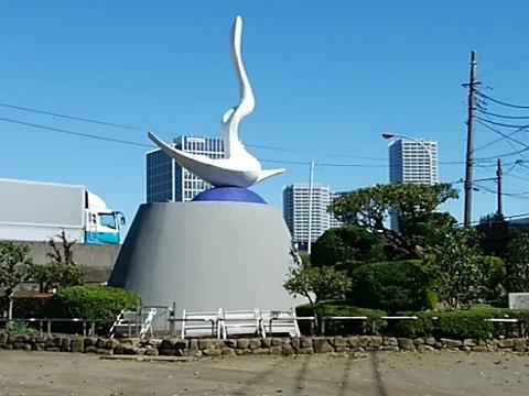 岡本かの子記念碑