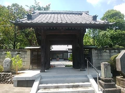法泉寺山門