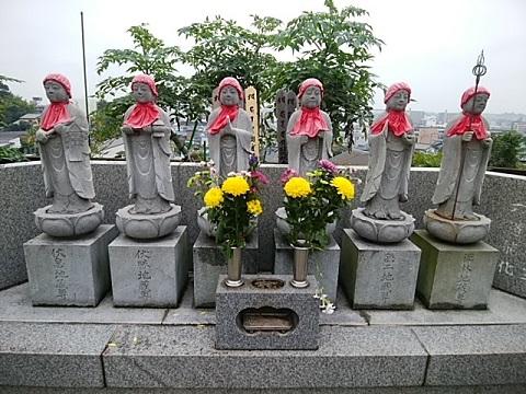 東漸寺六地蔵