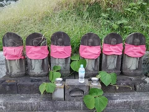 山田神社六地蔵