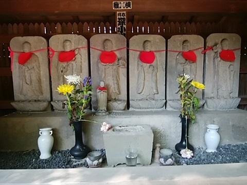 常倫寺六地蔵