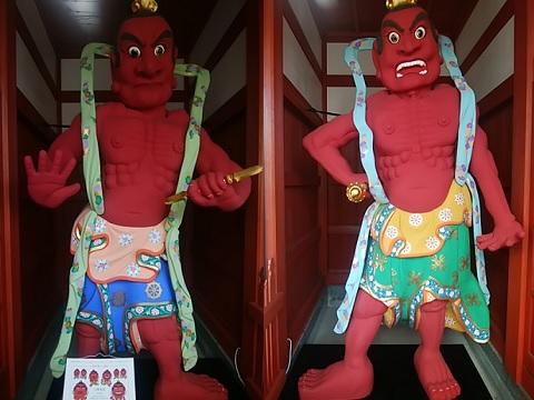 成願寺仁王像